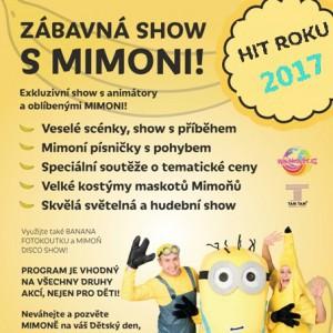 4b742899d4d0 Wikiho zábavná show s Mimoňmi